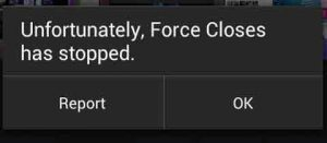 Sayangnya Aplikasi Telah Berhenti